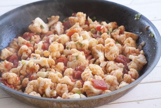 simmered - Cauliflower Macaroni and Cheese
