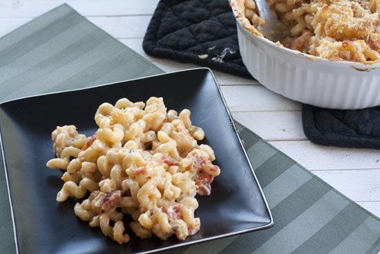 Cauliflower Macaroni and Cheese from Macheesmo