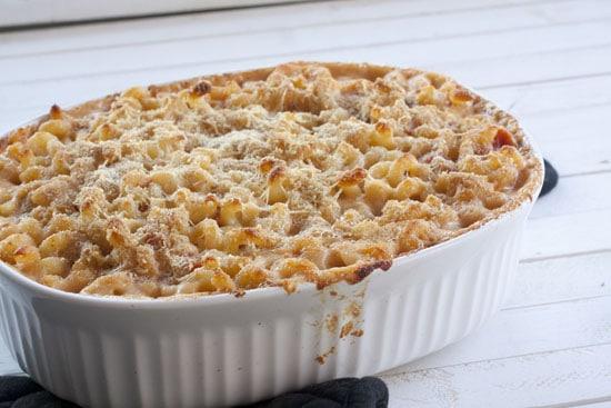 baked - Cauliflower Macaroni and Cheese