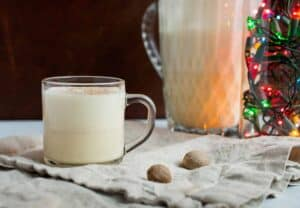 Perfect Homemade Eggnog: The thing I look forward to each holiday season is making big batches of homemade eggnog and sharing it with family and friends. Here's my version for what I consider to be perfect homemade eggnog! | macheesmo.com
