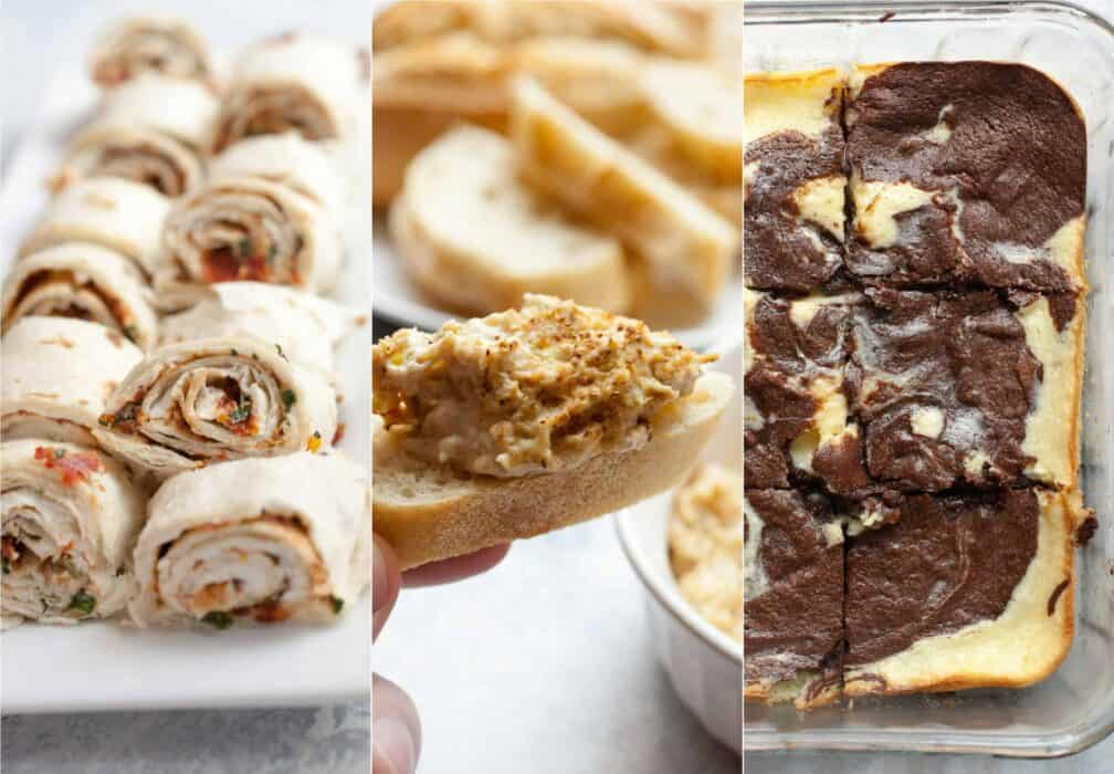Three Cream Cheese Appetizers: If you're looking for a quick and delicious appetizer for a party, look no further! One of these three delicious cream cheese appetizers will work!   macheesmo.com