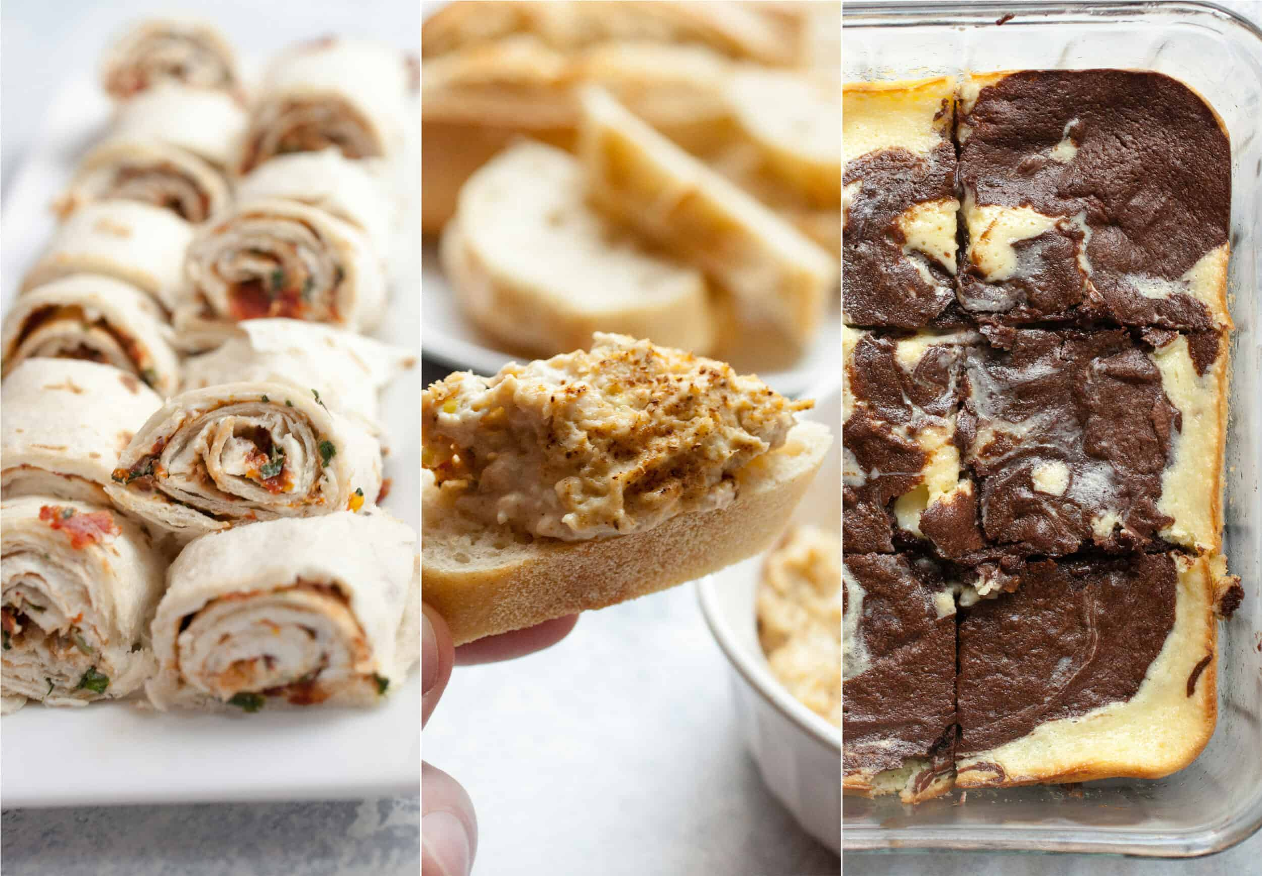 Three Cream Cheese Appetizers: If you're looking for a quick and delicious appetizer for a party, look no further! One of these three delicious cream cheese appetizers will work! | macheesmo.com
