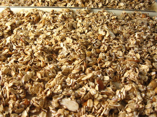 Miles and miles of granola.