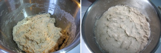 Before and after two hour rise.
