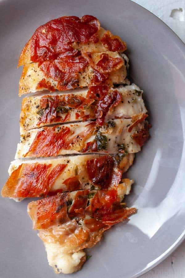Chicken Saltimbocca Sliced