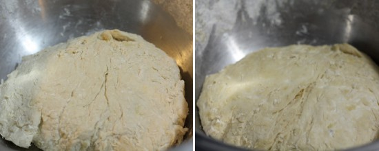 Before and after a 2 hour rise.