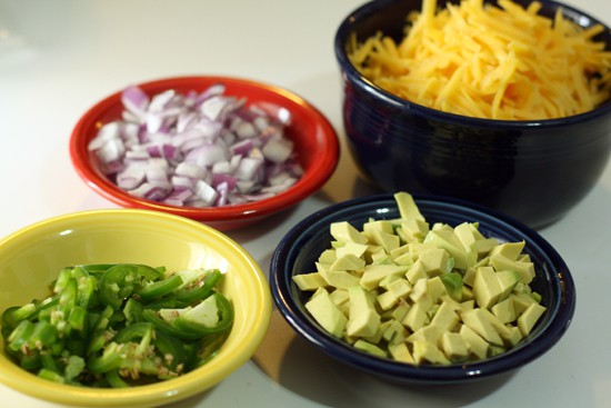 Some toppings for perfect nachos