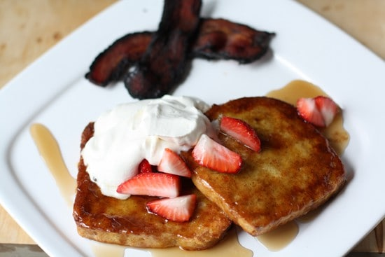 You can't go wrong with French Toast.