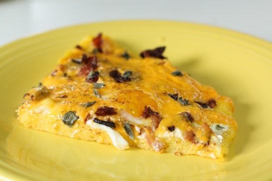 Polenta Breakfast Pizza