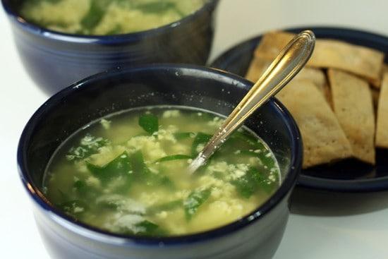 It's soup. It's a meal. It's both.