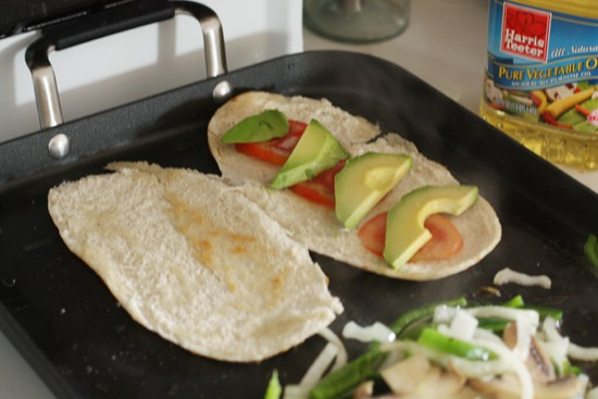 Avocado makes for good sandwiches.