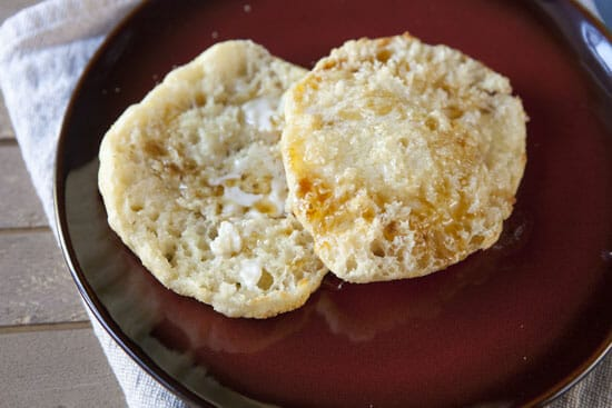 Homemade English Muffins via Macheesmo