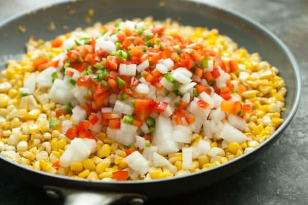 Spicy Corn Dip.