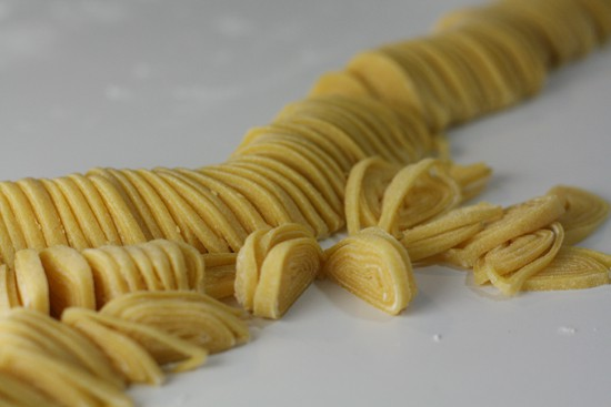 I really like photographing pasta.