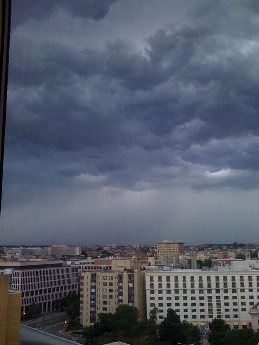 Taken from my office at about 3PM.
