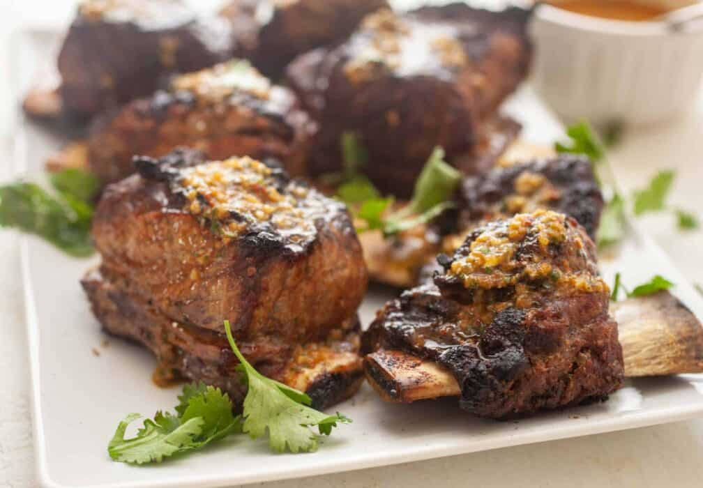 Grilled Short Ribs Chimichurri