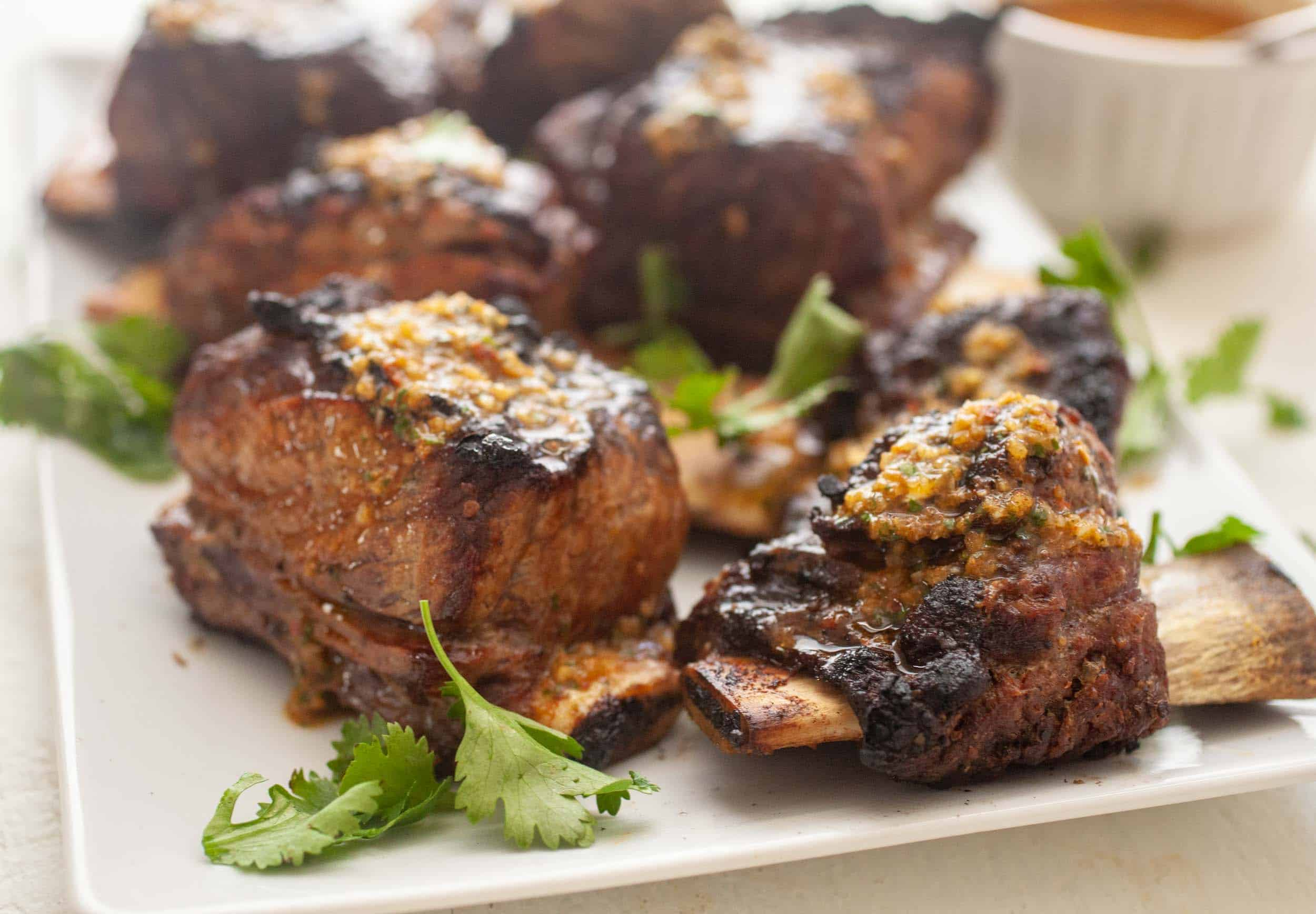 Grilled Short Ribs Chimichurri