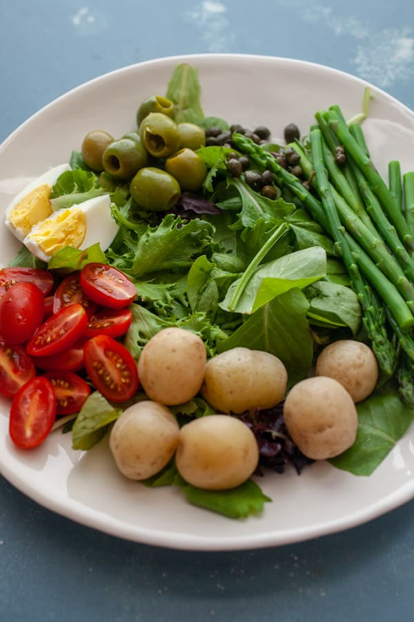 Building the Nicoise Salad