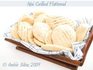 Mini Grilled Flatbread