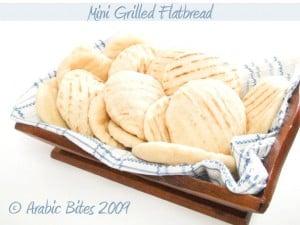 Mini Grilled Flatbread