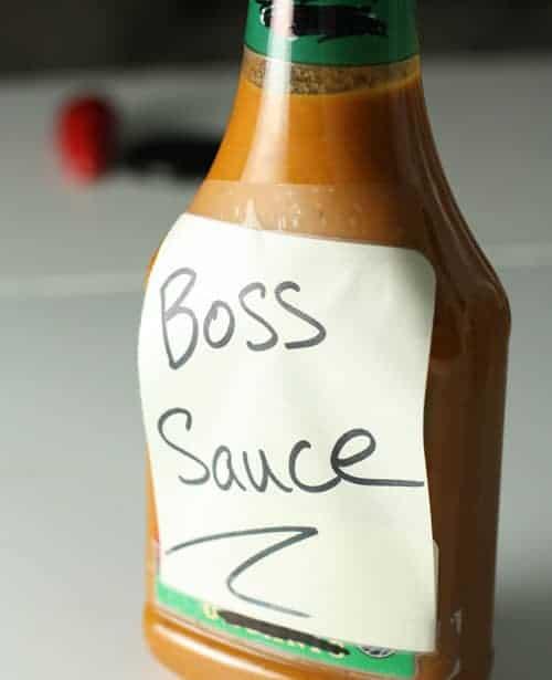 Boss. Bottled.