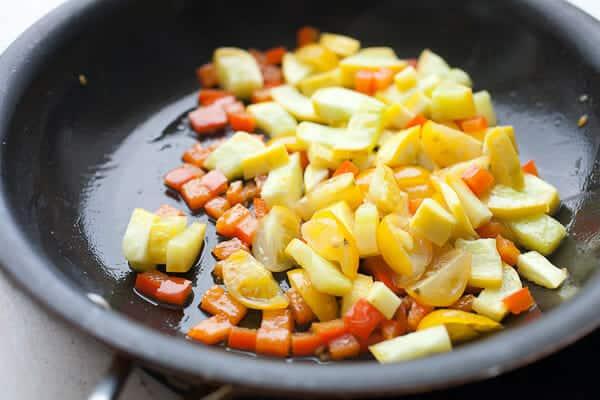 Griddle omelet