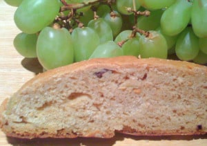 Grape and Raisin Bread with a Touch of Kahlua - Hobby and More