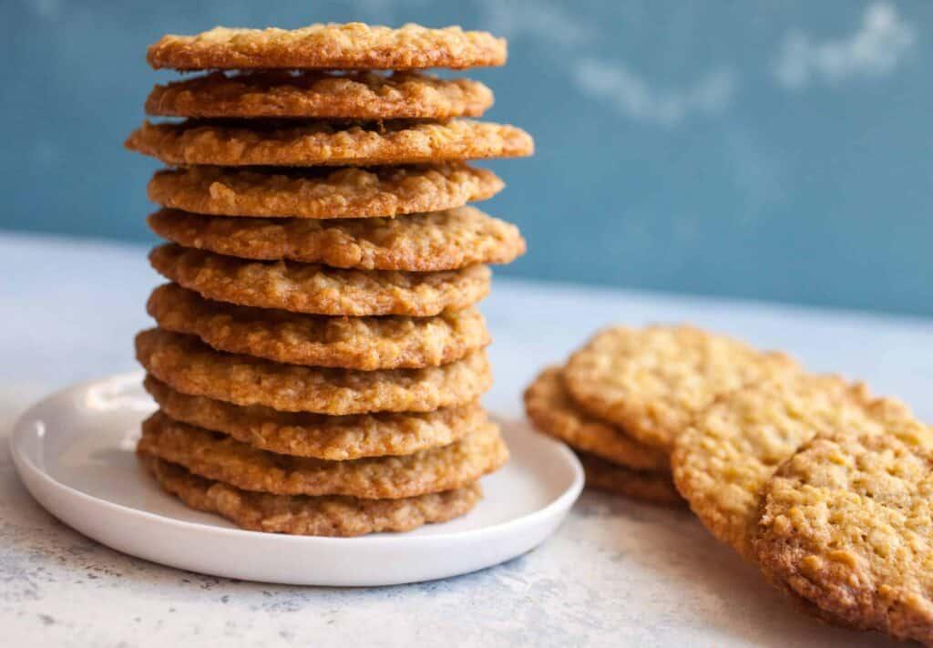 crispy oatmeal cookies recipe