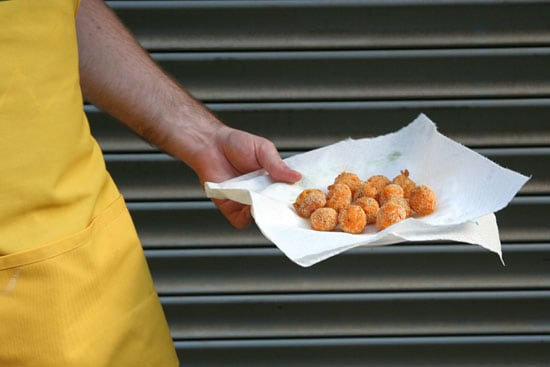 Cheese curds.