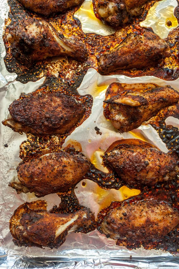 Chili Coffee Sticky Wings