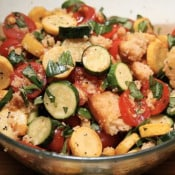 Arugula Files: Summer Squash and Cornbread Panzanella
