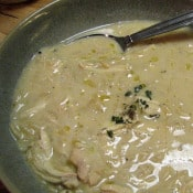 We Are Never Full: Avgolemono Soup