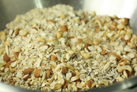 Nuts and oats.