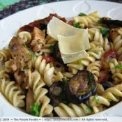 The Purple Foodie: Grilled Chicken and Veggie Pasta