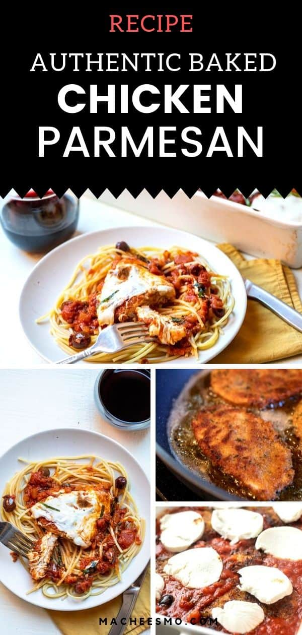 Authentic Chicken Parmesan