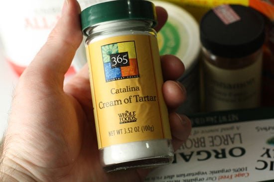 For chemistry nerds: Potassium Bitartrate