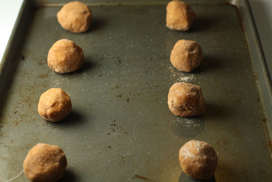 An army of snickerdoodles.