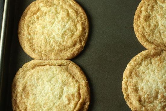Cookies kissing.