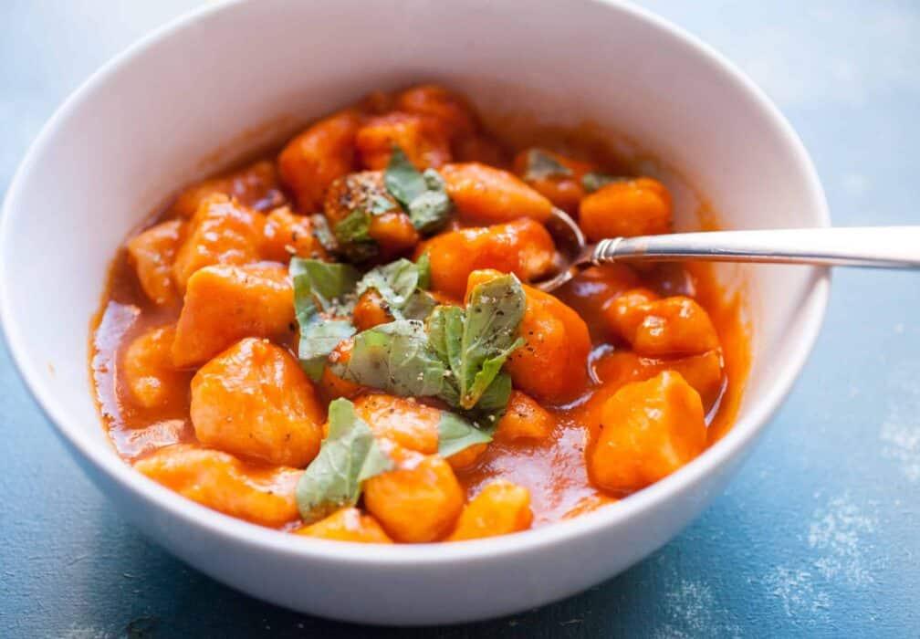 Easy Sweet Potato Gnocchi