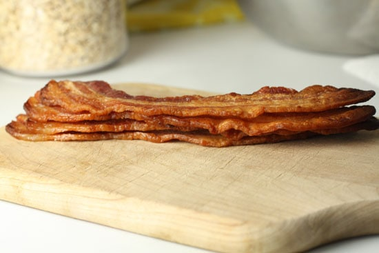 Super crispy bacon.