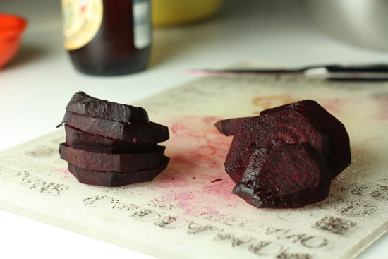 The mark of the beet!