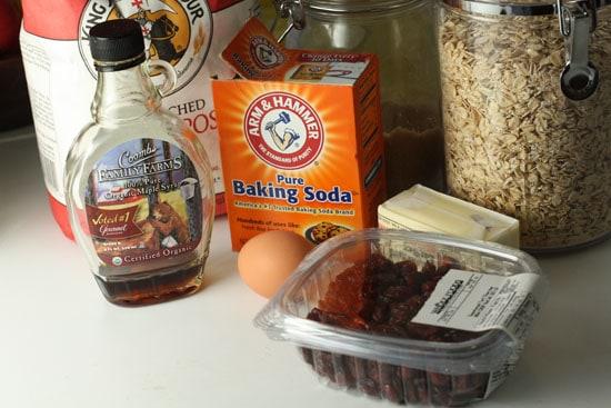 Cookie Ingredients.