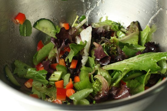 Very basic salad.