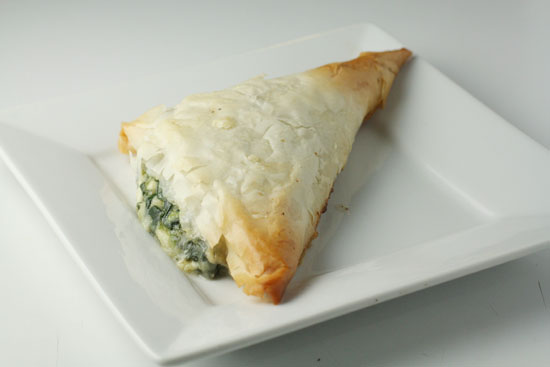 Single Spanakopita