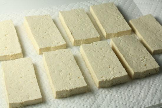 Tofu cut