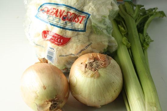 Just a few veggies.