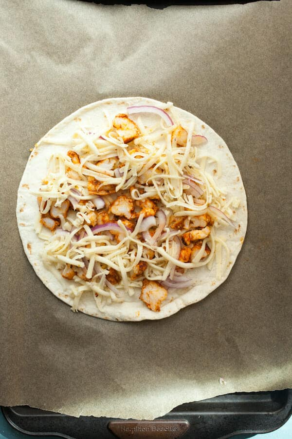How to Make Shrimp Quesadillas