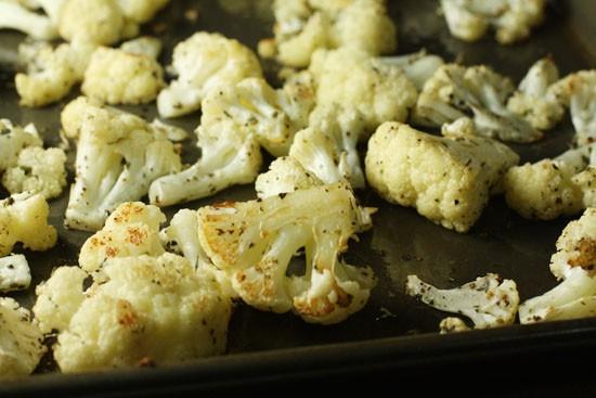 Browned cauliflower
