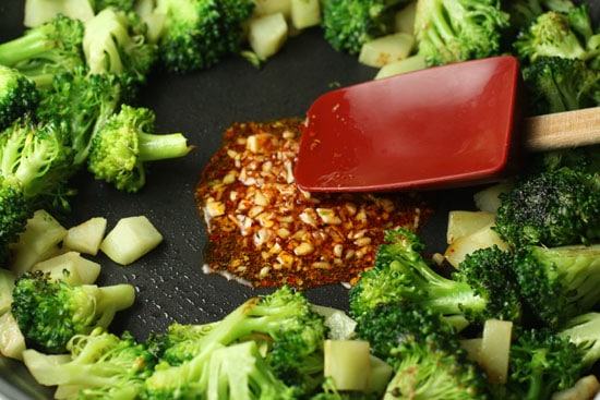 broccoli cooking