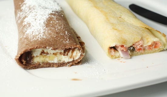 crepes inside